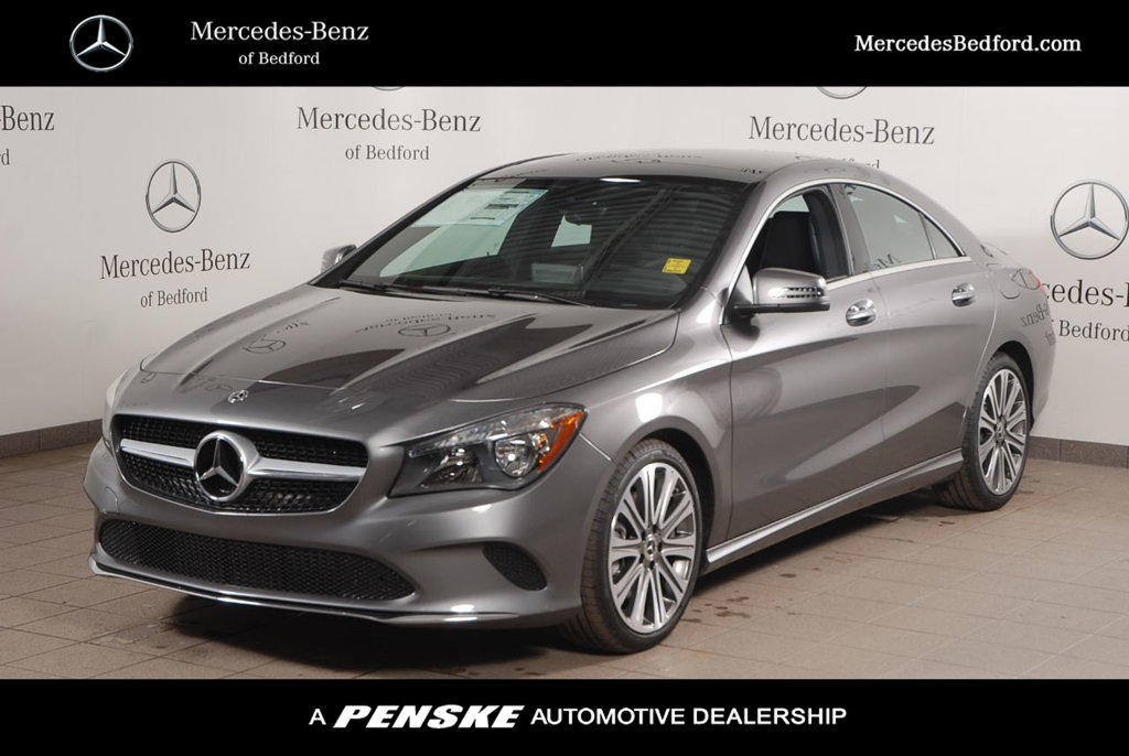 pre owned 2018 mercedes benz cla cla 250 coupe in bedford sl5115 mercedes benz of bedford. Black Bedroom Furniture Sets. Home Design Ideas