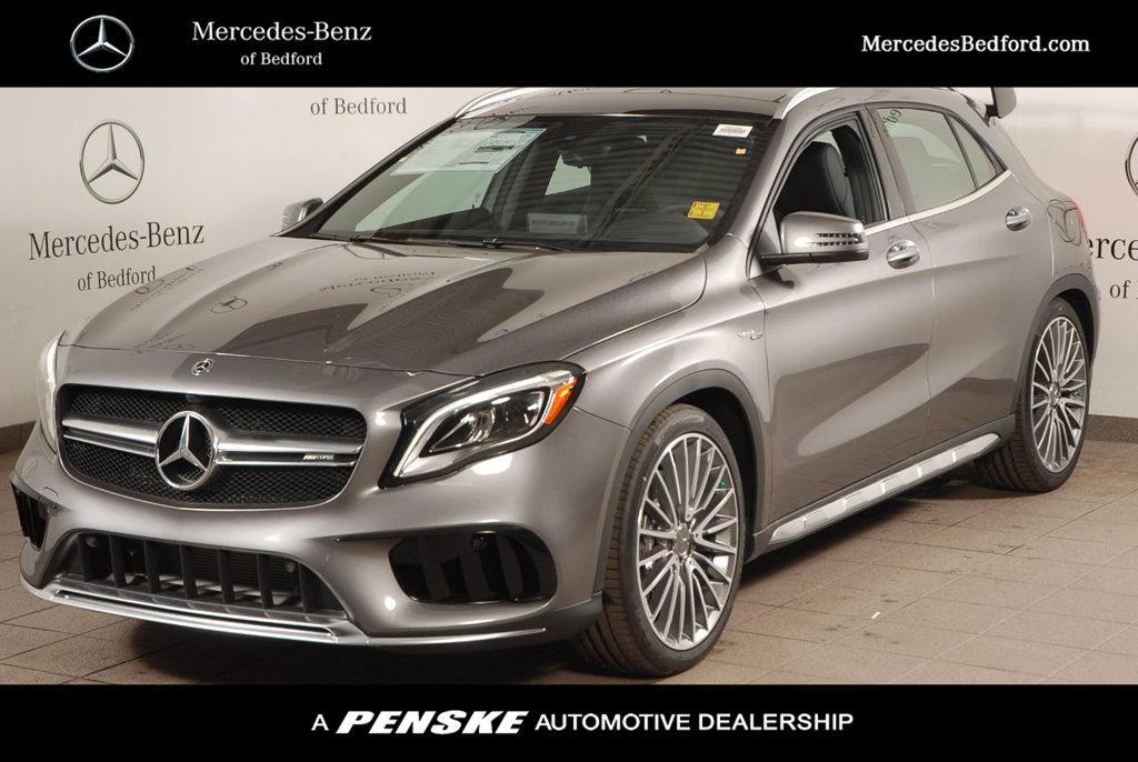 New 2018 mercedes benz gla amg gla 45 suv suv in bedford for Mercedes benz financial services online payment