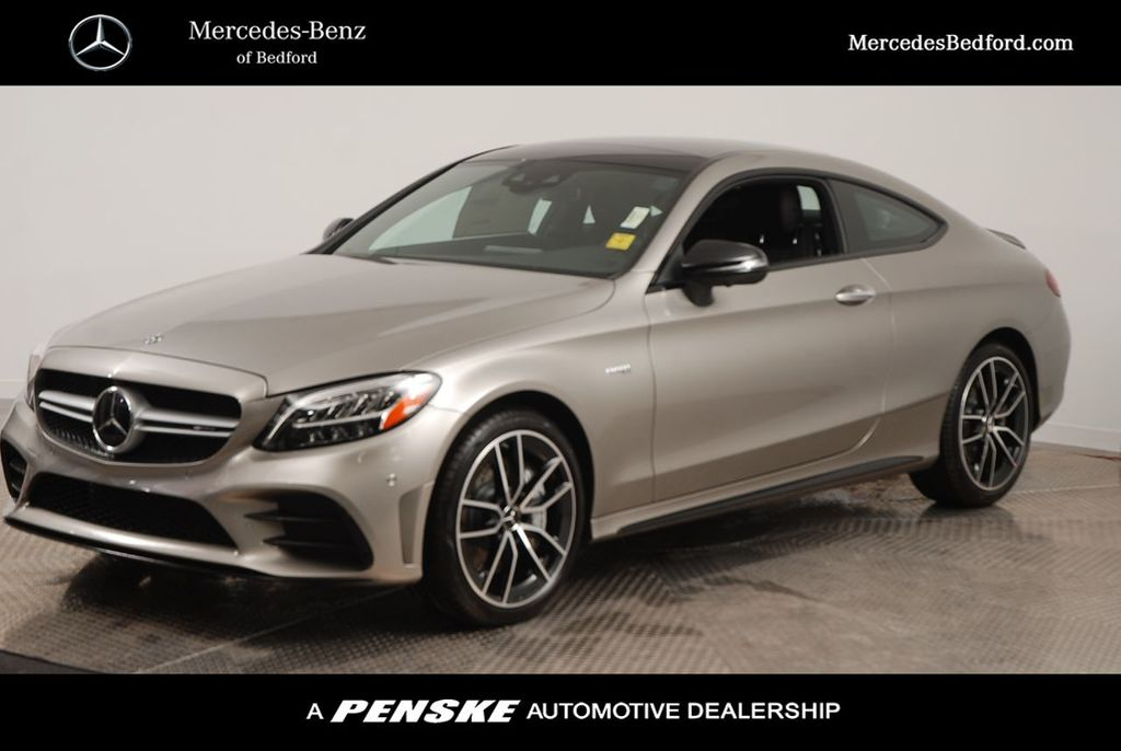 New 2020 Mercedes-Benz C-Class AMG® C 43 Coupe