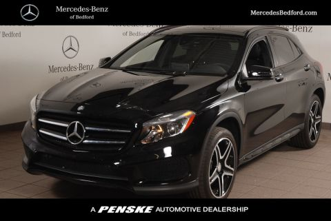 Certified Pre-Owned 2017 Mercedes-Benz GLA GLA 250 4MATIC® SUV