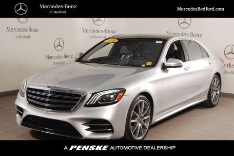 Certified Pre-Owned 2018 Mercedes-Benz S-Class S 560 4MATIC® Sedan