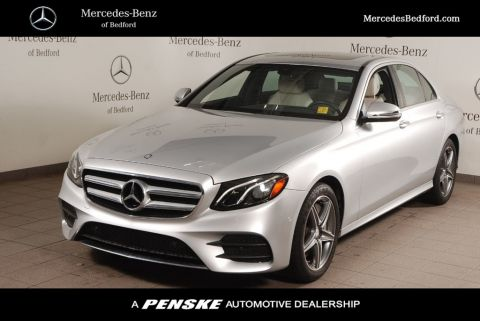 Certified Pre-Owned 2017 Mercedes-Benz E-Class E 300 Sport 4MATIC® Sedan